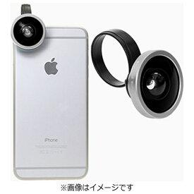 ポラロイド Polaroid クリップ式スマホレンズ Polalens(ポラレンズ) CW40 シルバー(スーパーワイド150°レンズ)[CW40SL]