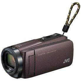 JVC ジェイブイシー GZ-F270 ビデオカメラ Everio(エブリオ) ブラウン [フルハイビジョン対応][GZF270]
