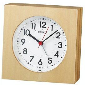 セイコー SEIKO 目覚まし時計 ナチュラルスタイル 天然色木地 KR501A [アナログ]