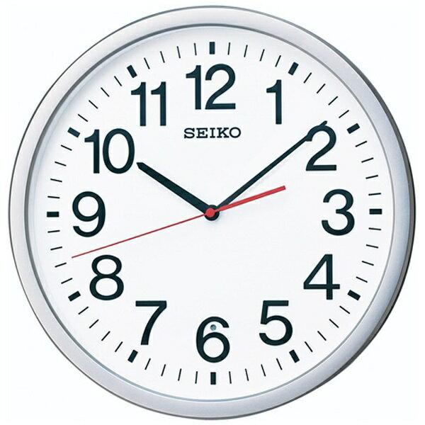セイコー SEIKO 電波掛け時計 「スタンダードオフィスタイプ」 KX229S[KX229S]