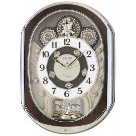 セイコー SEIKO からくり時計 【ウェーブシンフォニー】 薄金色パール RE578B [電波自動受信機能有]