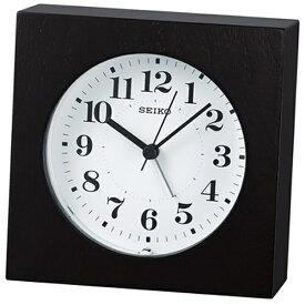 セイコー SEIKO 目覚まし時計 ナチュラルスタイル 黒木地 KR501K [アナログ]