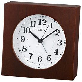 セイコー SEIKO 目覚まし時計 ナチュラルスタイル 茶木地 KR501B [アナログ]