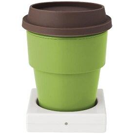 グリーンハウス GREEN HOUSE 〔USB〕 USBインサートカップウォーマー (グリーン) GH-CUPA-GR
