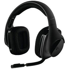 ロジクール Logicool G533 ゲーミングヘッドセット ブラック [ワイヤレス(USB) /両耳 /ヘッドバンドタイプ][G533]