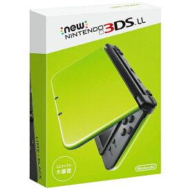 任天堂 Nintendo Newニンテンドー3DS LL ライム×ブラック [ゲーム機本体]
