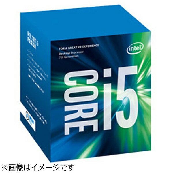【送料無料】 インテル 【エントリーでポイント10倍  9/26 9:59まで】Core i5-7500 BOX品 [CPU]