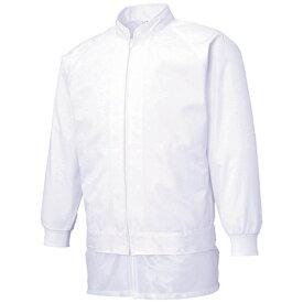 サンエス SUN-S サンエス 男女共用混入だいきらい長袖ジャケット LL ホワイト FX70971R-LL-C11《※画像はイメージです。実際の商品とは異なります》