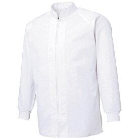 サンエス SUN-S サンエス 超清涼 男女共用混入だいきらい長袖コート L ホワイト FX70650R-L-C11《※画像はイメージです。実際の商品とは異なります》