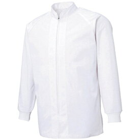 サンエス SUN-S サンエス 超清涼 男女共用混入だいきらい長袖コート LL ホワイト FX70650R-LL-C11《※画像はイメージです。実際の商品とは異なります》