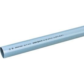 積水化学工業 SEKISUI エスロン VUパイプ100 1.0m SJU1H1《※画像はイメージです。実際の商品とは異なります》