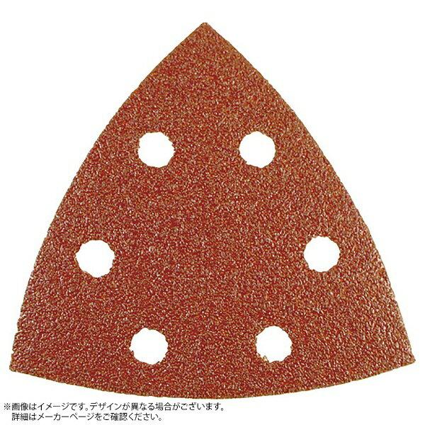 日立工機 日立 サンドペーパー三角AA100 6穴 (10枚入り) 0033-8246《※画像はイメージです。実際の商品とは異なります》