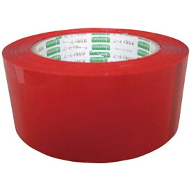 オカモト okamoto オカモト OPPテープ 48×100 赤 333C-R