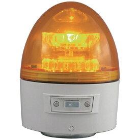 日惠製作所 NIKKEI NIKKEI ニコカプセル VL11B型 LED回転灯 118パイ 黄 VL11B-003AY