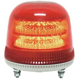 日惠製作所 NIKKEI NIKKEI ニコモア VL17R型 LED回転灯 170パイ 赤 VL17M-024AR《※画像はイメージです。実際の商品とは異なります》