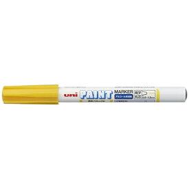三菱鉛筆 MITSUBISHI PENCIL uni アルコールペイントマーカー 細字 黄 PXA210.2