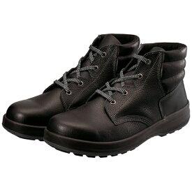 シモン Simon シモン 3層底安全編上靴 WS22BK-25.5