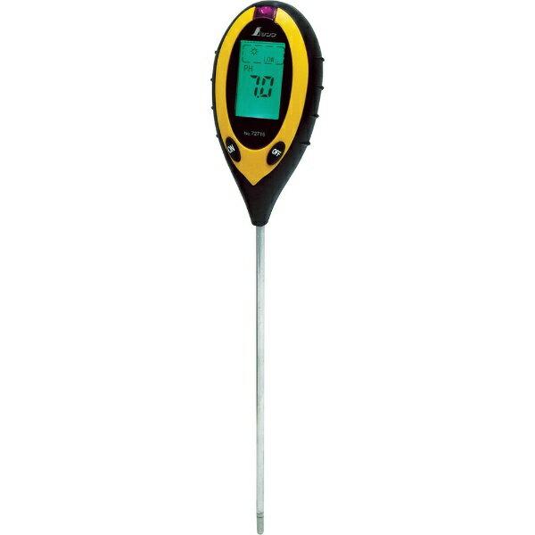 シンワ測定 シンワ デジタル土壌酸度計A 72716