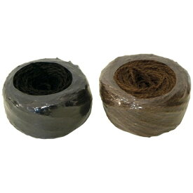 加藤伝蔵商店 伝蔵 棕櫚縄 100m 黒 K006《※画像はイメージです。実際の商品とは異なります》