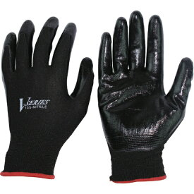 おたふく手袋 OTAFUKU GLOVE おたふく ニトリル背抜き手袋 ブラック M A-32-BK-M