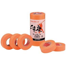 カモ井加工紙 KAMOI カモ井 マスキングテープ(6巻) BENKEI-21《※画像はイメージです。実際の商品とは異なります》