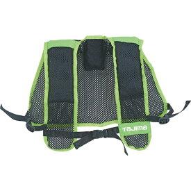 TJMデザイン タジマ 清涼ファン風雅ボディエアパット 黒/緑 F FB-AP16BGF