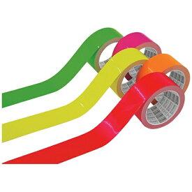 トラスコ中山 TRUSCO 蛍光ラインテープ50mmx33m オレンジ TLK-5033O《※画像はイメージです。実際の商品とは異なります》