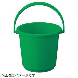 トラスコ中山 TRUSCO PPカラーバケツ 15L 緑 TPPB-15-GN《※画像はイメージです。実際の商品とは異なります》