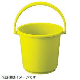 トラスコ中山 TRUSCO PPカラーバケツ 15L 黄 TPPB-15-Y《※画像はイメージです。実際の商品とは異なります》