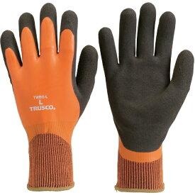 トラスコ中山 TRUSCO 防寒天然ゴム手袋 Lサイズ TWBG-L