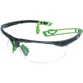 トラスコ中山 TRUSCO 二眼型セーフティグラス ツル特殊構造 グリーン TSG-9901GN