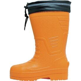 ジーベック XEBEC ジーベック EVAめちゃ軽防寒長靴 85712 S オレンジ 85712-82-S《※画像はイメージです。実際の商品とは異なります》