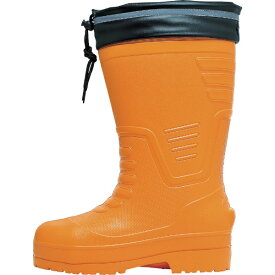 ジーベック XEBEC ジーベック EVAめちゃ軽防寒長靴 85712 SS オレンジ 85712-82-SS《※画像はイメージです。実際の商品とは異なります》