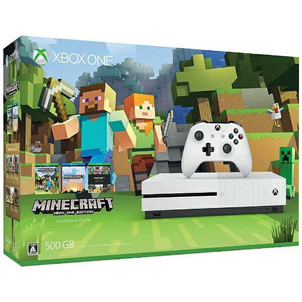 【送料無料】 マイクロソフト Xbox One S(エックスボックスワン エス) 500GB(Minecraft 同梱版) [ゲーム機本体]