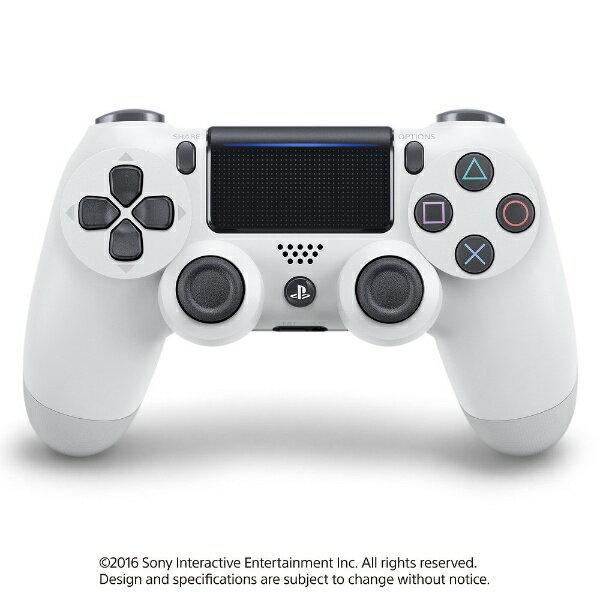 ソニーインタラクティブエンタテインメント Sony Interactive Entertainmen 【純正】PS4専用ワイヤレスコントローラー [DUALSHOCK4] グレイシャー・ホワイト(CUH-ZCT2J13)【PS4】