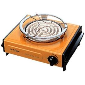 IZUMI イズミ IEC-105 電気コンロ オレンジ [消費電力600W][IEC105]