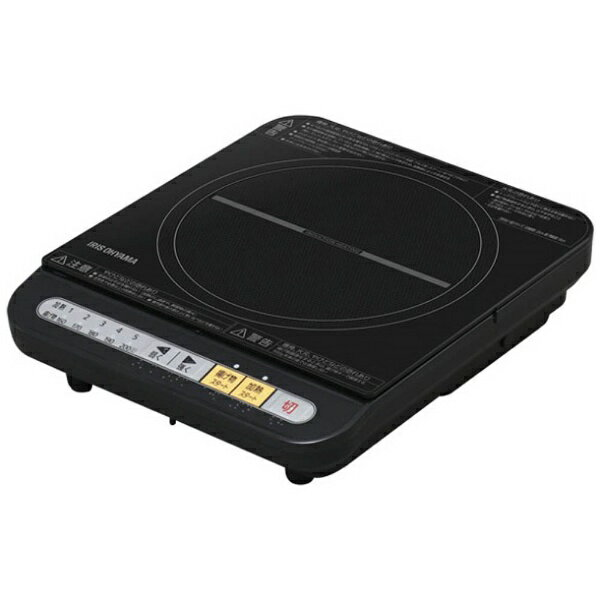 アイリスオーヤマ 卓上型IH調理器 (1口) IHK-T34-B