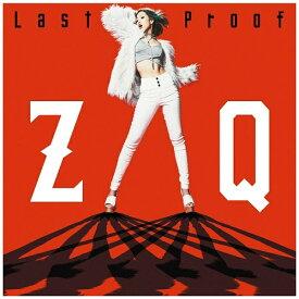 エイベックス・エンタテインメント Avex Entertainment ZAQ/「劇場版トリニティセブン」主題歌:Last Proof 【CD】