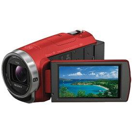 ソニー SONY HDR-CX680 ビデオカメラ レッド [フルハイビジョン対応][HDRCX680R]