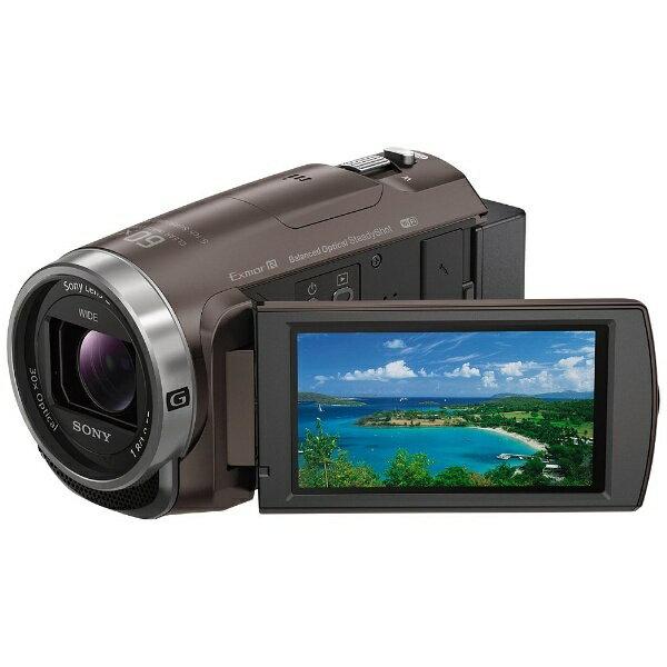 【送料無料】 ソニー SONY メモリースティックマイクロ/マイクロSD対応 64GBメモリー内蔵 フルハイビジョンビデオカメラ(ブロンズブラウン) HDR-CX680(TI)[HDRCX680TI]