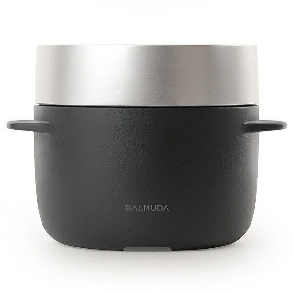 バルミューダ BALMUDA K03A 炊飯器 BALMUDA The Gohan ブラック [3合][K03ABK] 【代金引換配送不可】