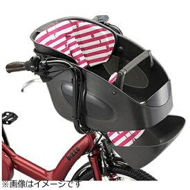 ブリヂストン BRIDGESTONE フロントチャイルドシート クッション bikke POLAR用(ボーダーピンク)FBP_K