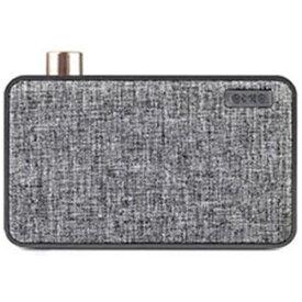 ROA ロア ブルートゥース スピーカー CANVAS グレー EM9025 [Bluetooth対応][EM9025]