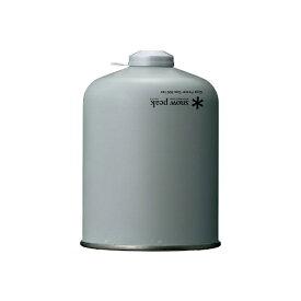 スノーピーク snow peak LPG(液化イソブタン・液化ブタン) カートリッジ ギガパワーガス500イソ(NET:420g) GP-500SR