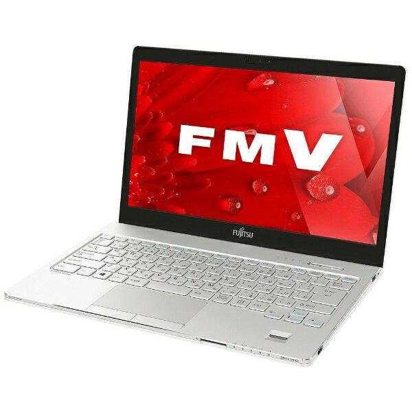 【送料無料】 富士通 13.3型ノートPC[Office付き・Win10 Home・Core i5・HDD 500GB・メモリ 4GB] LIFEBOOK SH75/B1 ホワイト FMVS75B1W (2017年春モデル)