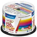 三菱ケミカルメディア MITSUBISHI CHEMICAL MEDIA VHW12NP50SV1 録画用DVD-RW Verbatim(バーベイタム) [50枚 /イ…