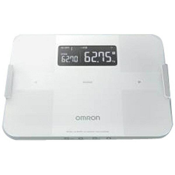 【送料無料】 オムロン 体重体組成計 「カラダスキャン」 HBF-255T-W ホワイト