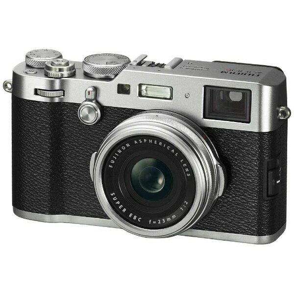 【送料無料】 富士フイルム FUJIFILM X100F コンパクトデジタルカメラ Xシリーズ シルバー