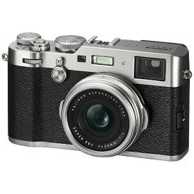 富士フイルム FUJIFILM X100F コンパクトデジタルカメラ Xシリーズ シルバー[FX100FS]
