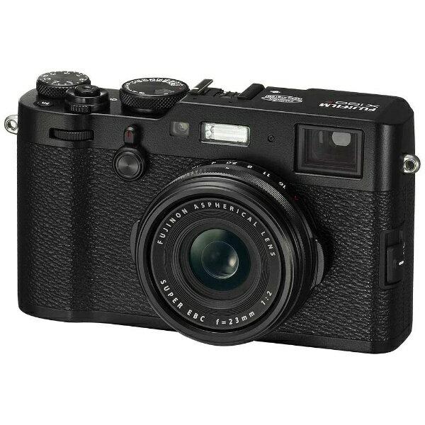 【送料無料】 フジフイルム FUJIFILM コンパクトデジタルカメラ FUJIFILM X100F(ブラック)